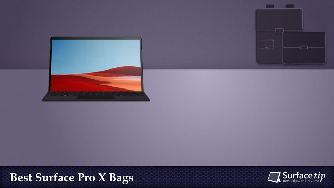 Best Bags for Surface Pro X