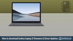 Download Surface Laptop 3 Drivers and Firmware Update