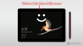 Surface Go - Windows Hello Face Authentication