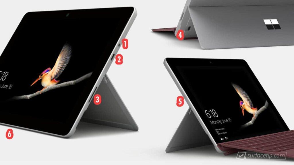 Surface Go Ports