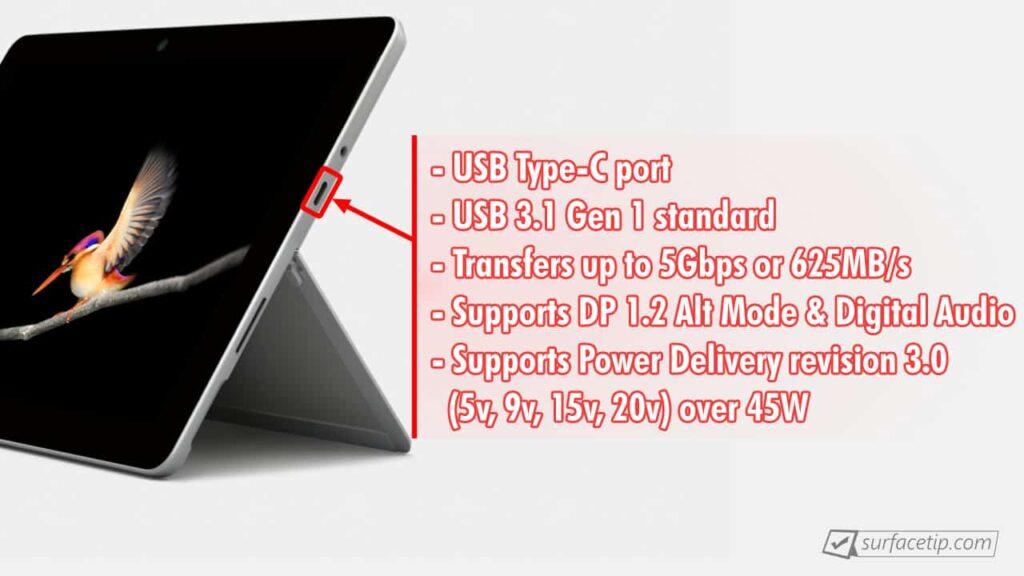 Surface Go USB-C