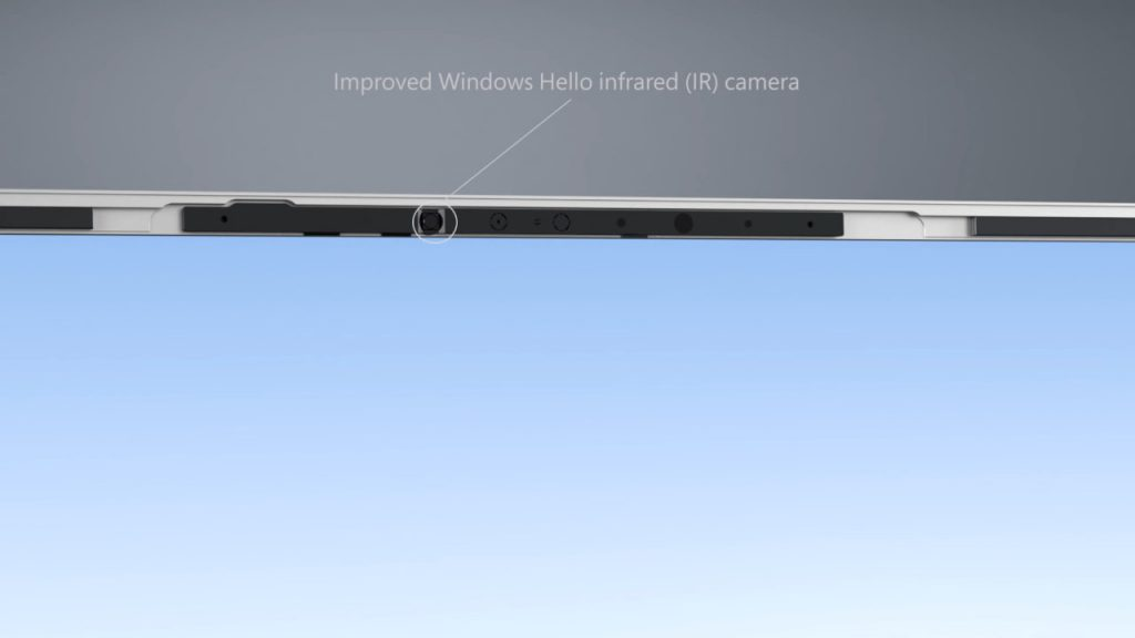 Surface Laptop 3 Improve Windows Hello Infrared (IR) Camera