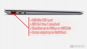Surface Laptop 3 USB-A Port Info