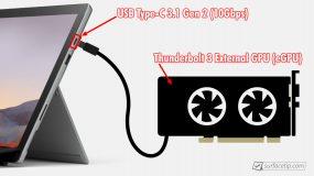 Surface Pro 7 eGPU
