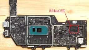 Surface Pro 7 Soldered SSD