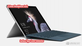 Surface Pro 5 Port Left