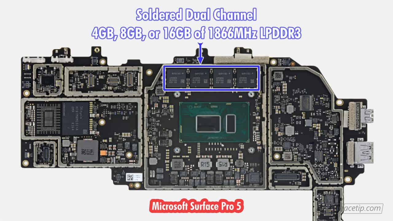 Surface Pro 5 RAM