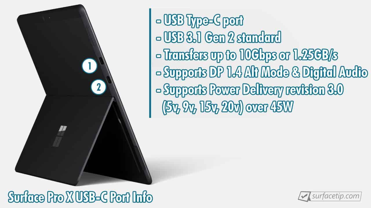 Surface Pro X USB-C