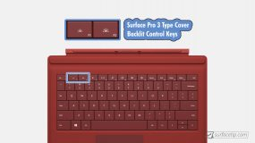 Surface Pro 3 Backlit Keyboard