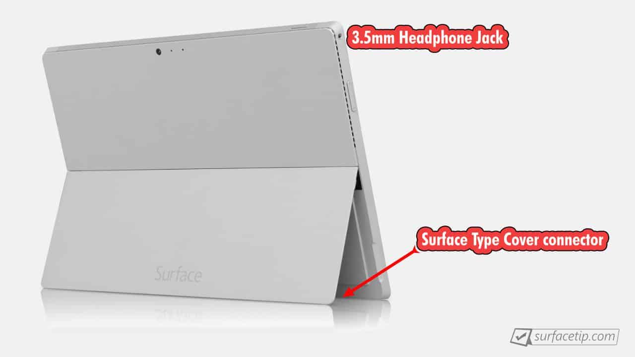 Surface Pro 3 Port Left