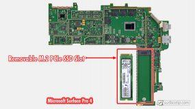Surface Pro 4 SSD