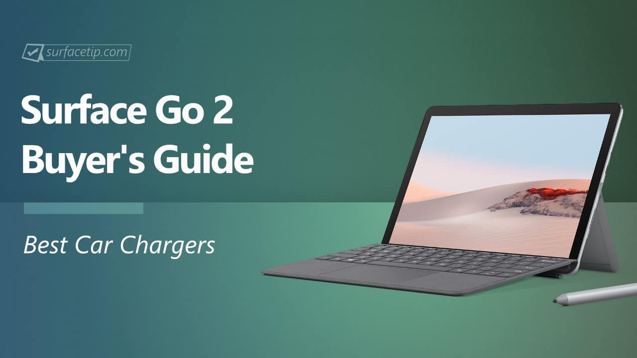 Best Car Chargers for Surface Go 2