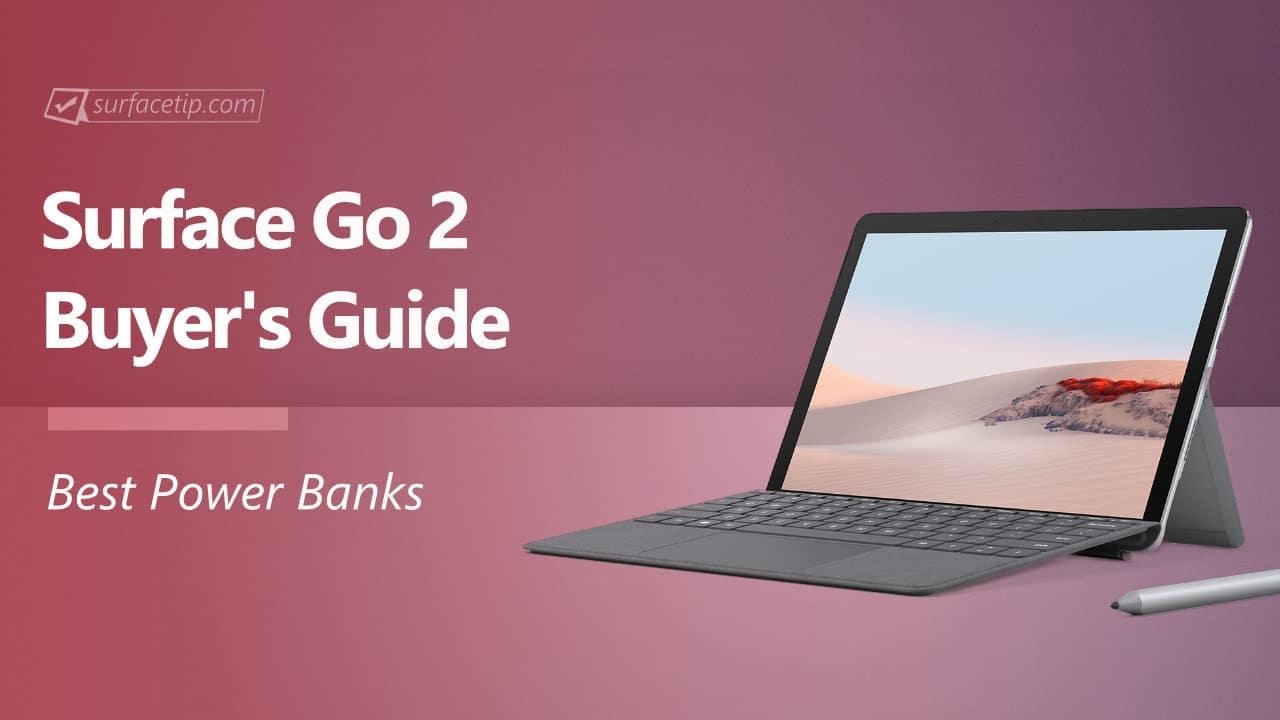 Best Surface Go 2 Portable Battery Packs