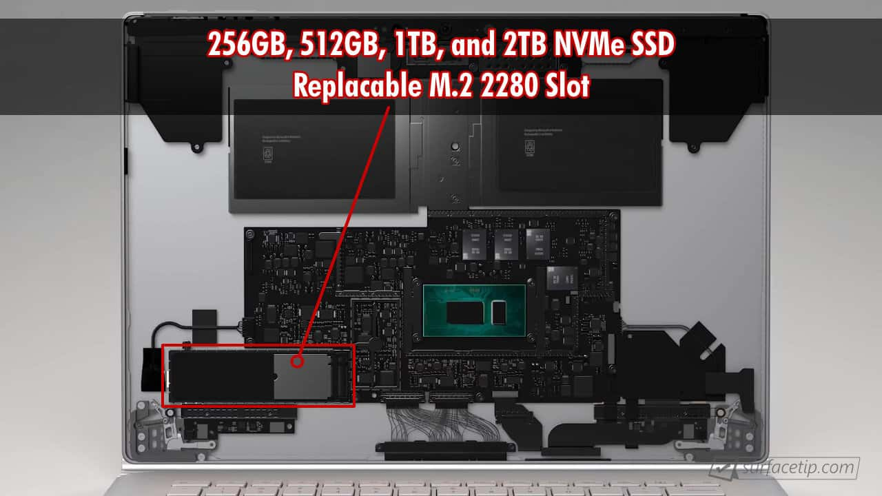 Surface Book 3 SSD Upgrade