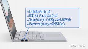 Surface Book 3 USB-A Info