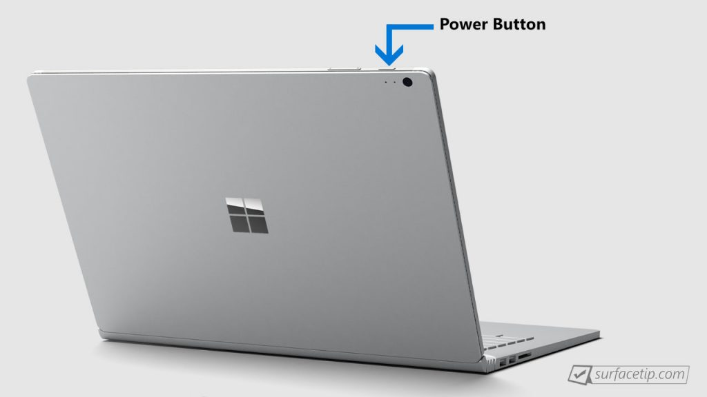 Surface Book Power Button