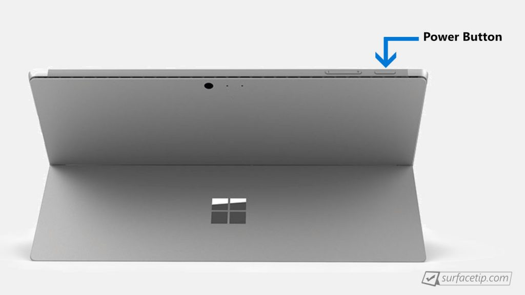 Surface Pro Power Button