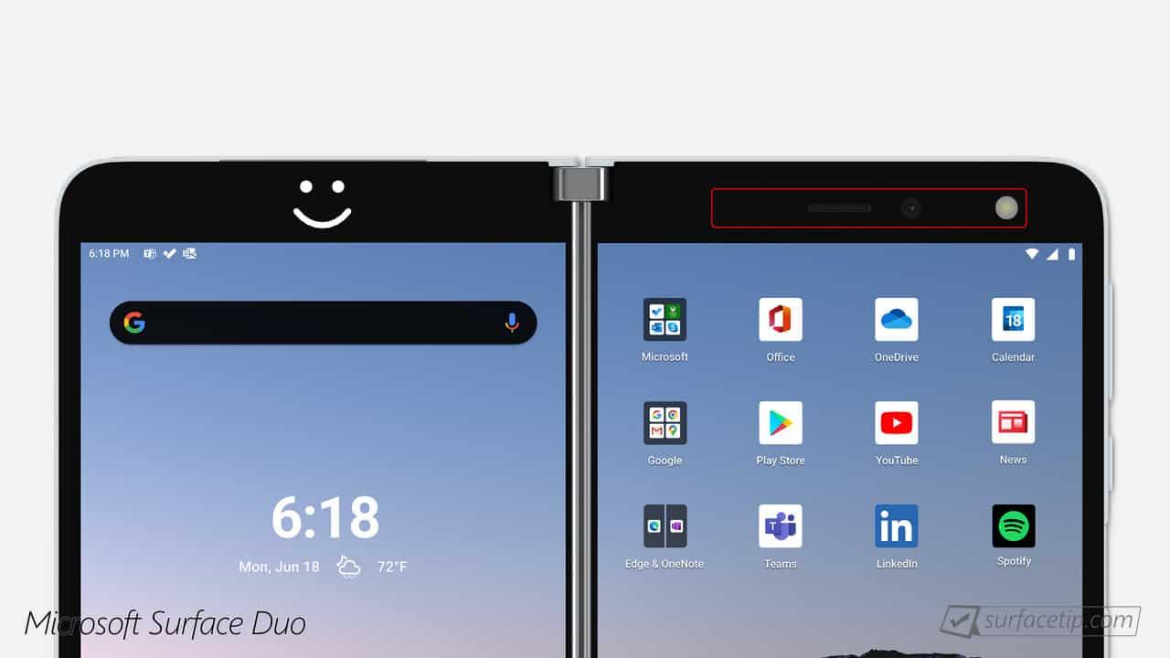 Surface Duo Face Unlock