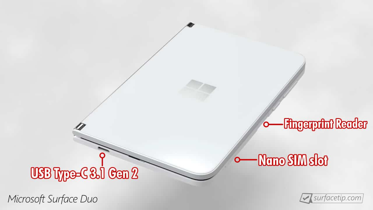 Surface Duo Ports
