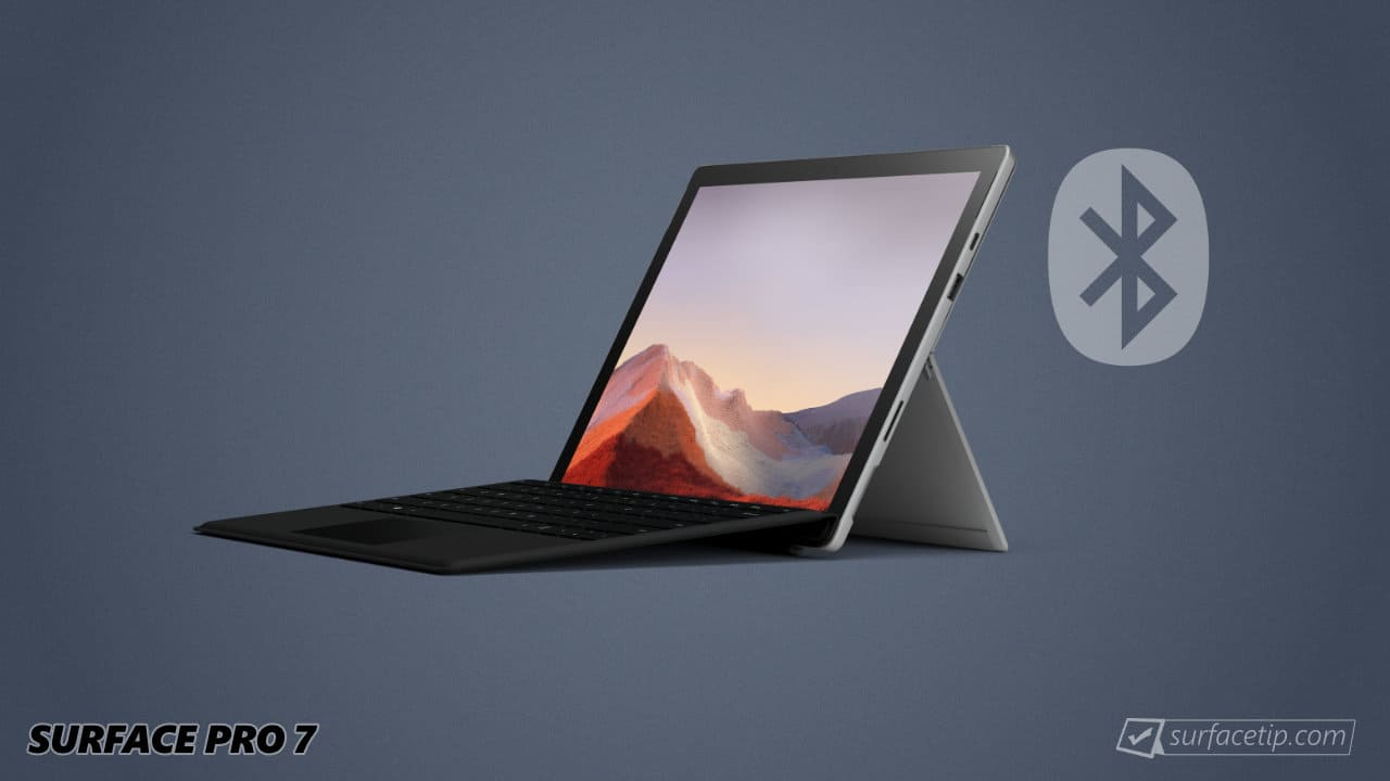 Surface Pro 7 with Bluetooth