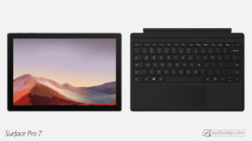 Does Surface Pro 7 come with keyboard?