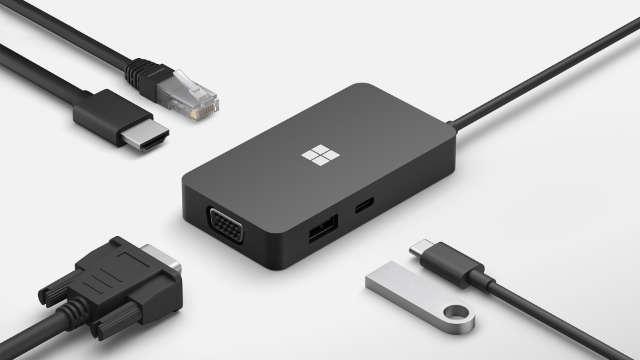 Microsoft USB-C 5-in-1 Travel Hub