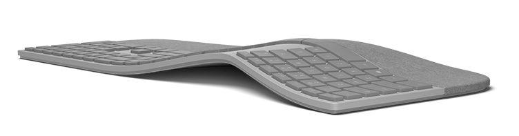 Surface Ergonomic Keyboard Top Views