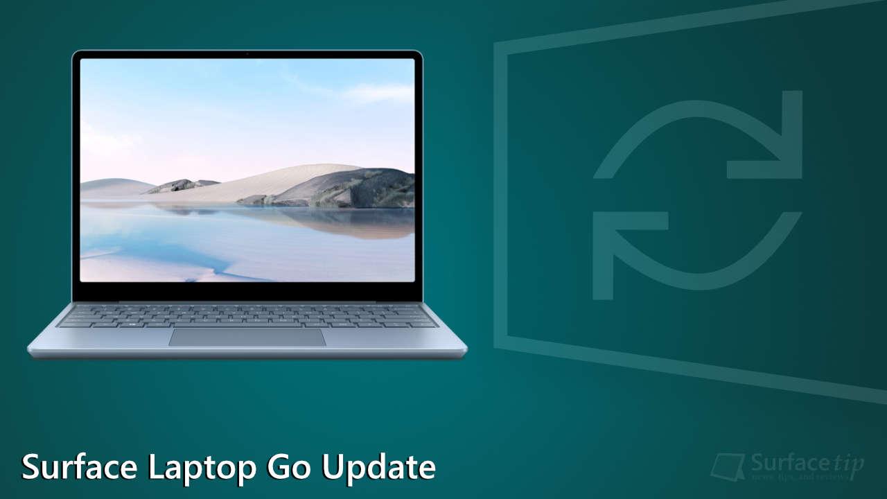 Surface Laptop Go Updates