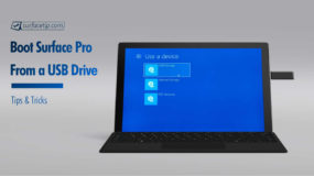 How To Boot Surface Pro From A USB Drive
