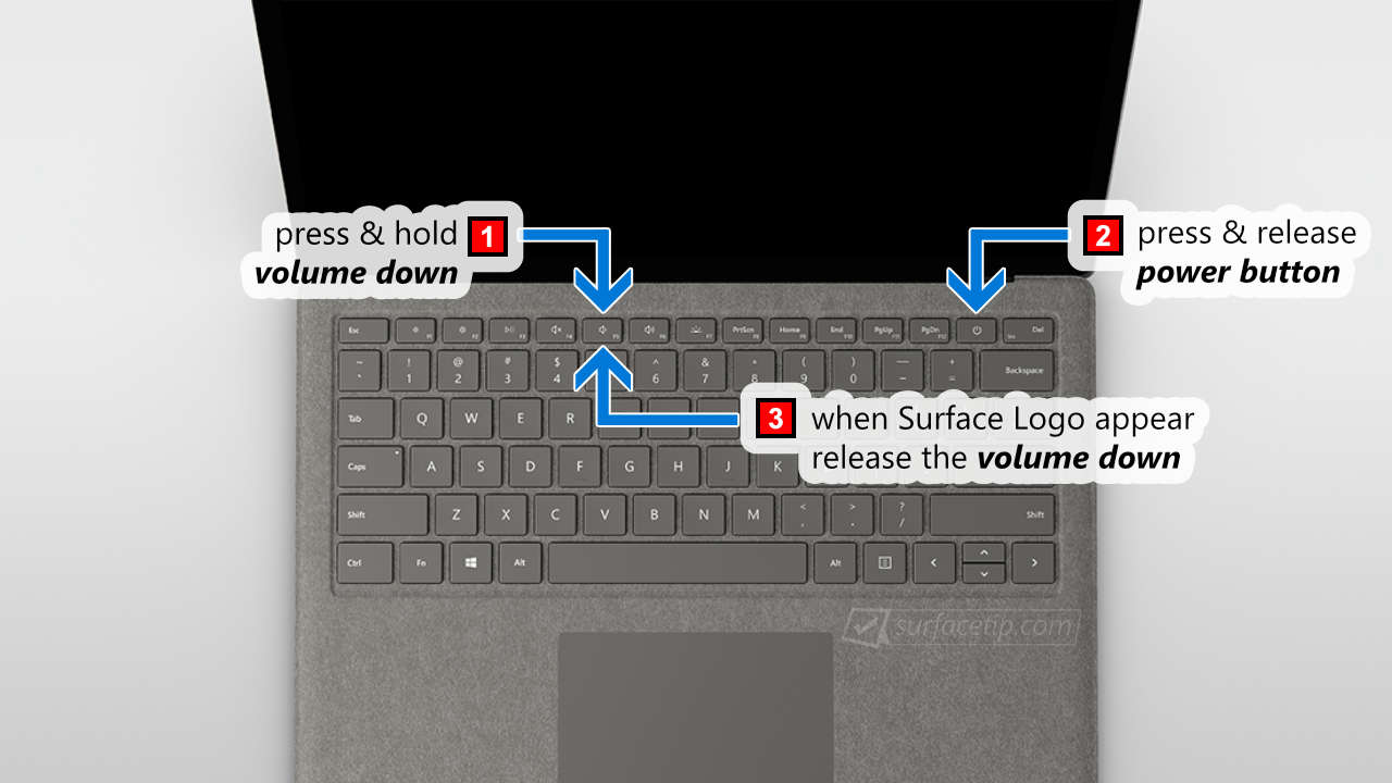 Steps to Boot Surface Laptop from a USB Drive
