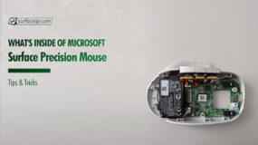 Inside Microsoft Surface Precision Mouse