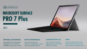 Surface Pro 7 Plus Specs