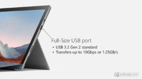 Surface Pro 7 Plus USB-A Port Info