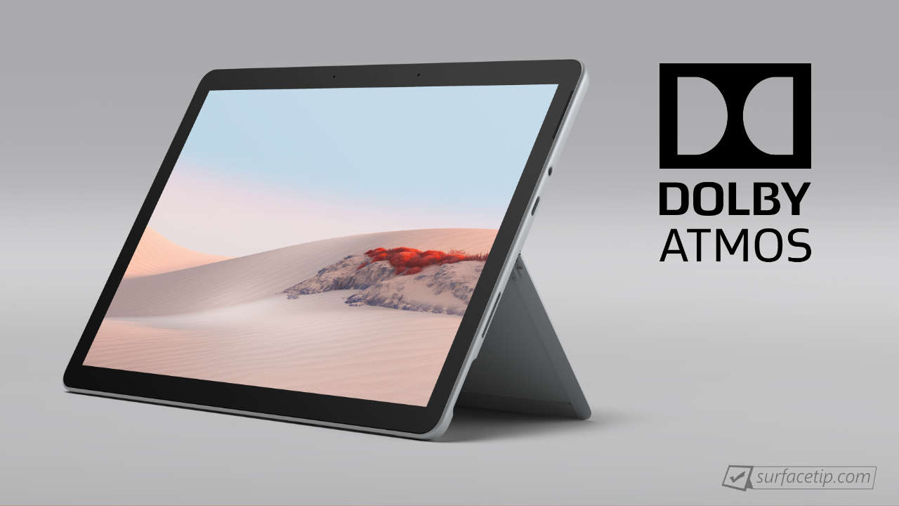 Does Surface Go 2 Support Dolby Atmos?