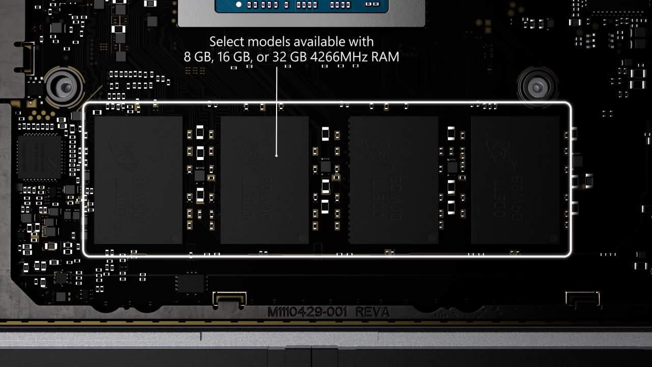 Surface Laptop 4 Soldered RAM