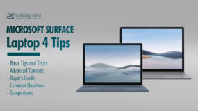 Surface Laptop 4 Tips and Tricks
