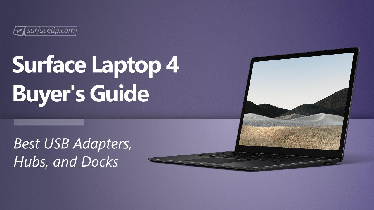 Best USB Hubs for Surface Laptop 4
