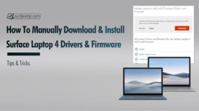 How to Manually Download and Install Surface Laptop 4 Drivers and Firmware