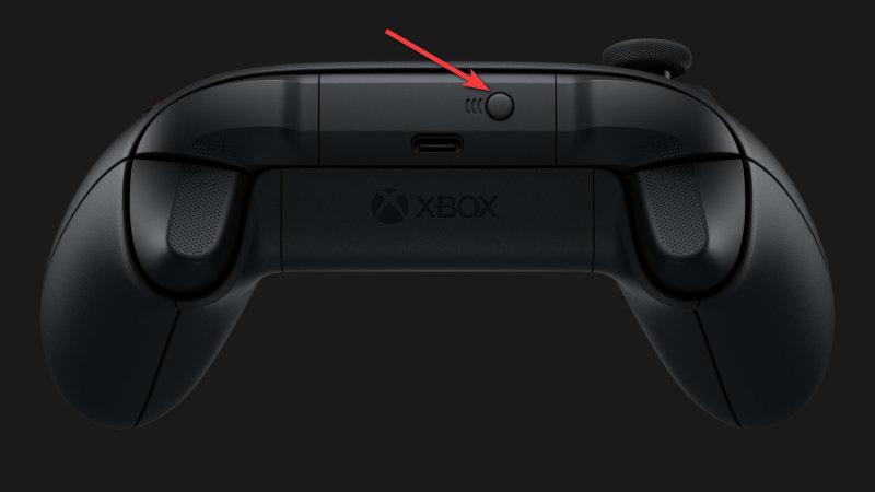 Xbox Controller - Connect button