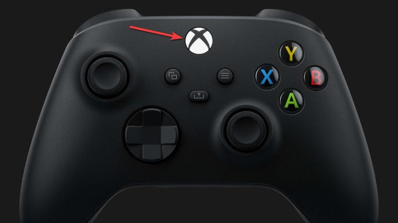 Xbox Controller - Xbox button