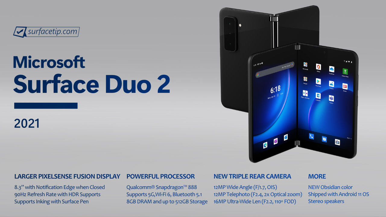 Surface Duo 2 Specs