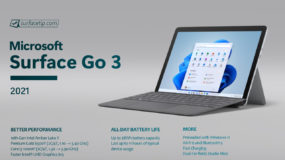 Microsoft Surface Go 3 Specs