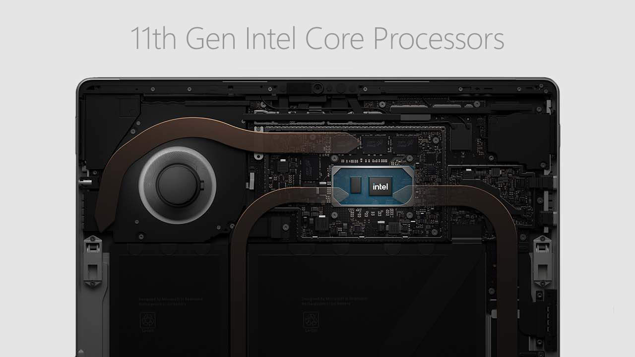 Surface Pro 8 Processors